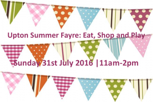 Upton Summer Fayre: Eat, Shop and Play