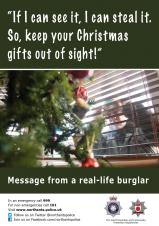 DON'T MAKE IT EASY FOR THIEVES AT CHRISTMAS
